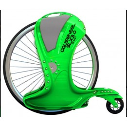 Gauswheel SLX 3.0 Urban Green and red
