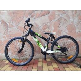 """Használt hustvéti 24"""" aluvázas montainbike bicikli gyerekeknek"""