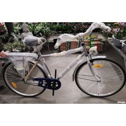 Városi bicikli férfi vázas használt kerékpár