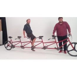 Egyedi 3,4,5 Tandem bicikli kerékpár