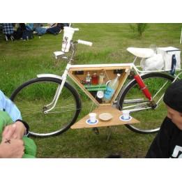 Igazi camping bicikli