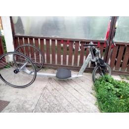 Evezőbicikli egyedi bicikli készités megrendelésre elektromos hajtással