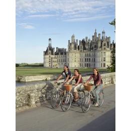 Loire menti kastélyok kerékpárral 2019 Szeptember 19-28 ( egyeztetéssel lehet Augusztusban is)